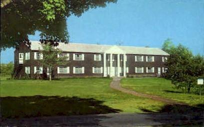 Lincoln Dormitory, on Lake Chautauqua - New York NY Postcard