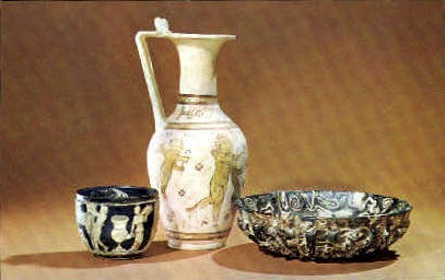 Roman Glass, Corning Museum of Glass - New York NY Postcard