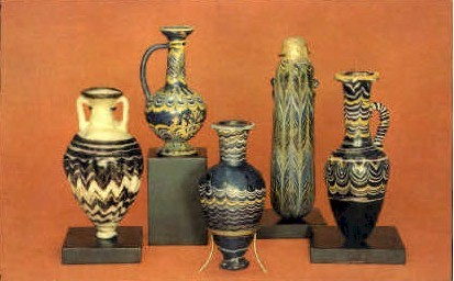 Egyptian Glass, Corning Museum of Glass - New York NY Postcard