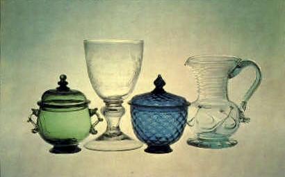 American Glass, Corning Museum of Glass - New York NY Postcard