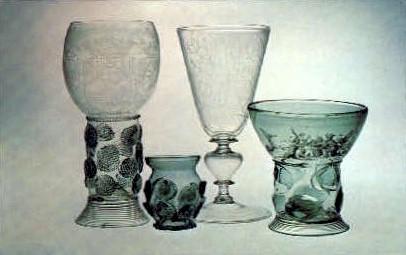 Dutch Glass, Corning Museum of Glass - New York NY Postcard