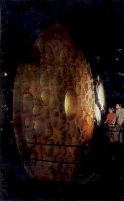 Telescope Disk, Corning Glass Center - New York NY Postcard