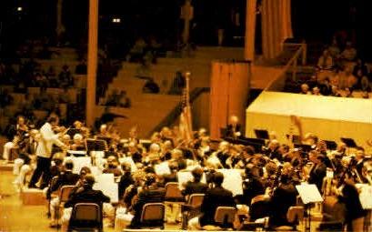 Symphony Orchestra - Chautauqua, New York NY Postcard