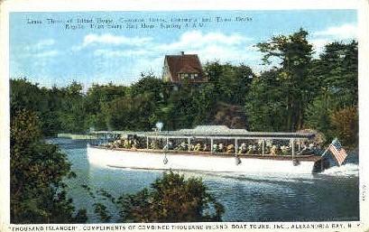 Alexandria Bay, New York Postcard