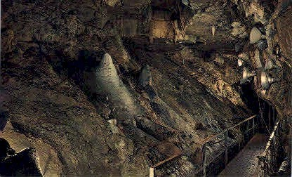 The Sentinels - Howe Caverns, New York NY Postcard
