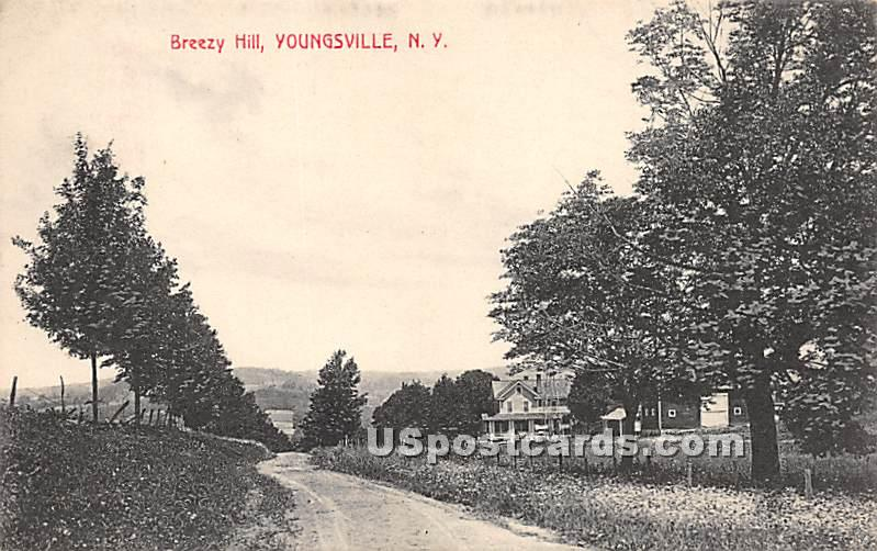 Breezy Hill - Youngsville, New York NY Postcard