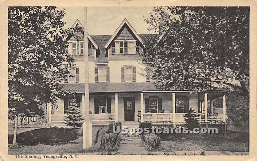 The Sterling - Youngsville, New York NY Postcard