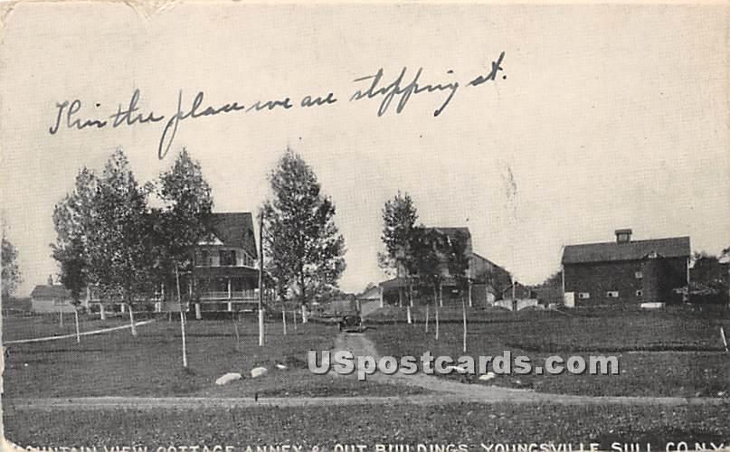 Mountain View Cottage - Youngsville, New York NY Postcard