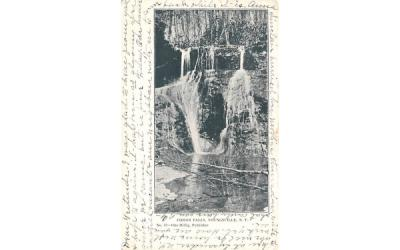 Indian Falls Youngsville, New York Postcard