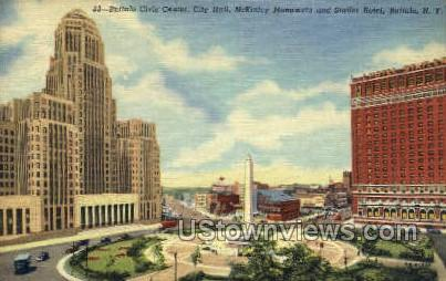 Buffalo Civic Center - New York NY Postcard