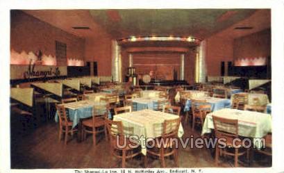 Mshangri-La Inn - Endicott, New York NY Postcard