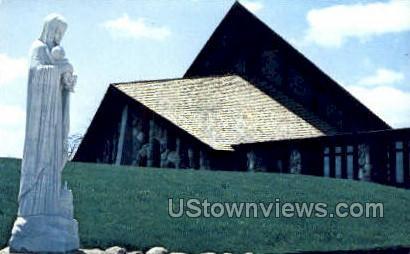 Abbey of the Genesee - Piffard, New York NY Postcard