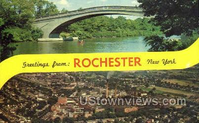 Rochester, New York, NY Postcard
