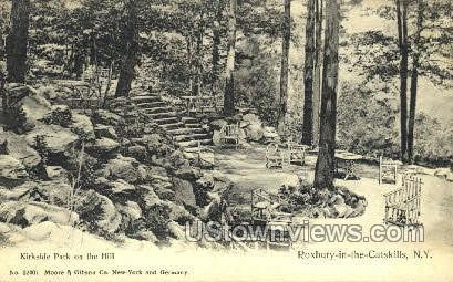 Kirkside Park - Catskill, New York NY Postcard