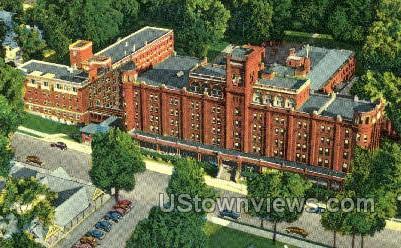 Clifton Springs Hospital & Clinic - New York NY Postcard