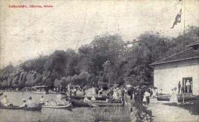 Lakeside - Akron, Ohio OH Postcard