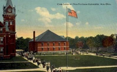 Ohio Northern University - Ada Postcard