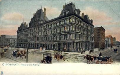 Government Building - Cincinnati, Ohio OH Postcard