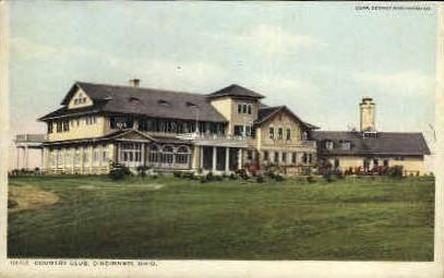 Country Club - Cincinnati, Ohio OH Postcard