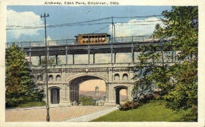 Archway, Eden Park - Cincinnati, Ohio OH Postcard