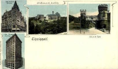 Odd Fellows Temple - Cincinnati, Ohio OH Postcard