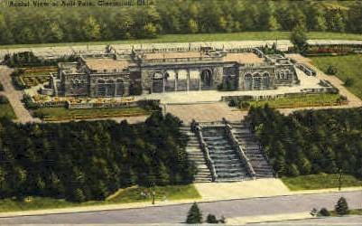 Ault Park - Cincinnati, Ohio OH Postcard