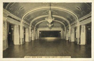 Grand Ball Room, Hotel Gibson - Cincinnati, Ohio OH Postcard