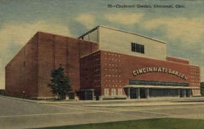 Cincinnati Garden - Ohio OH Postcard