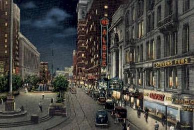 Fifth Street - Cincinnati, Ohio OH Postcard