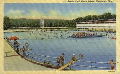 Sunlite Pool, Coney Island - Cincinnati, Ohio OH Postcard