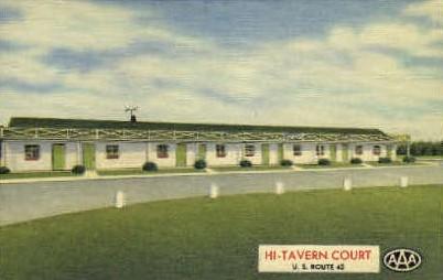 Hi-Tavern Court - Cincinnati, Ohio OH Postcard