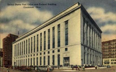 United States Post Office - Cincinnati, Ohio OH Postcard
