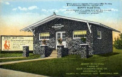 Bonny Blue Coal - Cincinnati, Ohio OH Postcard