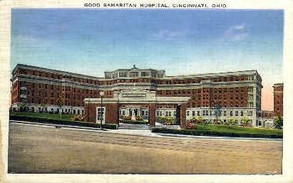 Good Samaritan Hospital - Cincinnati, Ohio OH Postcard
