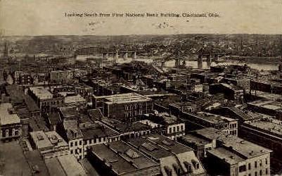First National Bank Building - Cincinnati, Ohio OH Postcard