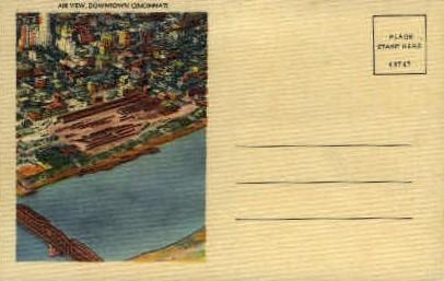 Downtown - Cincinnati, Ohio OH Postcard