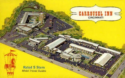 Carrousel Inn - Cincinnati, Ohio OH Postcard