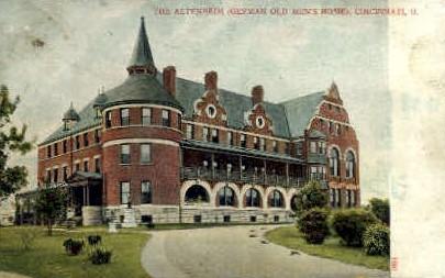 The Altenheim - Cincinnati, Ohio OH Postcard