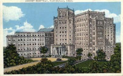 Christ Hospital - Cincinnati, Ohio OH Postcard