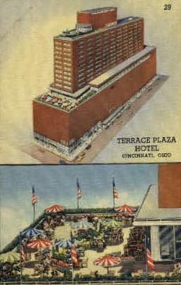 Terrace Plaza Hotel - Cincinnati, Ohio OH Postcard