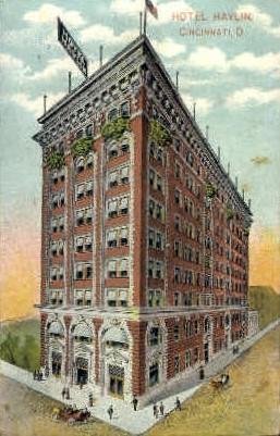 Hotel Havlin - Cincinnati, Ohio OH Postcard