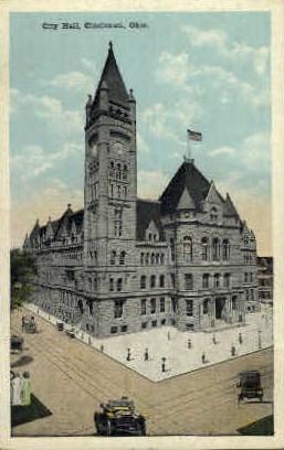 City Hall - Cincinnati, Ohio OH Postcard