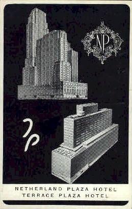 Netherland Plaza Hotel - Cincinnati, Ohio OH Postcard