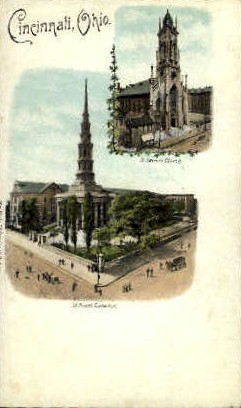 St. Peter's Cathedral - Cincinnati, Ohio OH Postcard