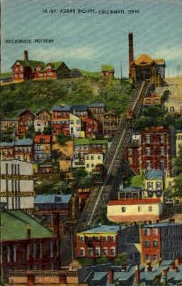 Mt. Adams Incline - Cincinnati, Ohio OH Postcard
