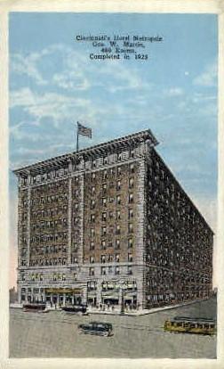 Hotel Metropole - Cincinnati, Ohio OH Postcard