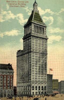 Union Central Life Insurance CO. Building - Cincinnati, Ohio OH Postcard