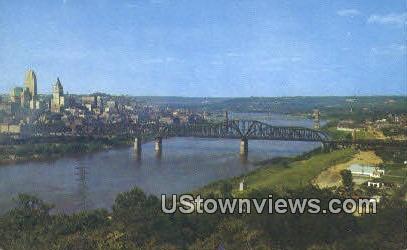 Five Bridges, Devou Park - Cincinnati, Ohio OH Postcard
