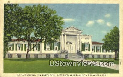 Taft Museum - Cincinnati, Ohio OH Postcard