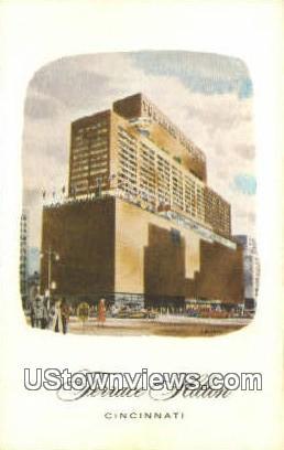 Terrace Hilton - Cincinnati, Ohio OH Postcard